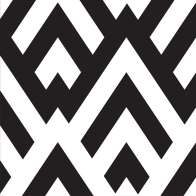 Swatch for Printed Duck Tape® Brand Duct Tape - Black & White Diamond, 1.88 in. x 10 yd.