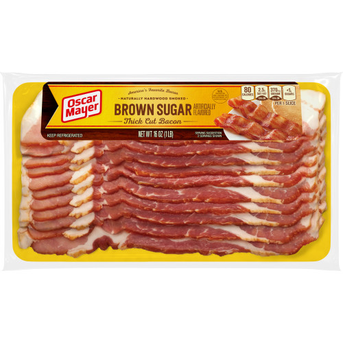 Oscar Mayer Bacon, Brown Sugar, 16 oz