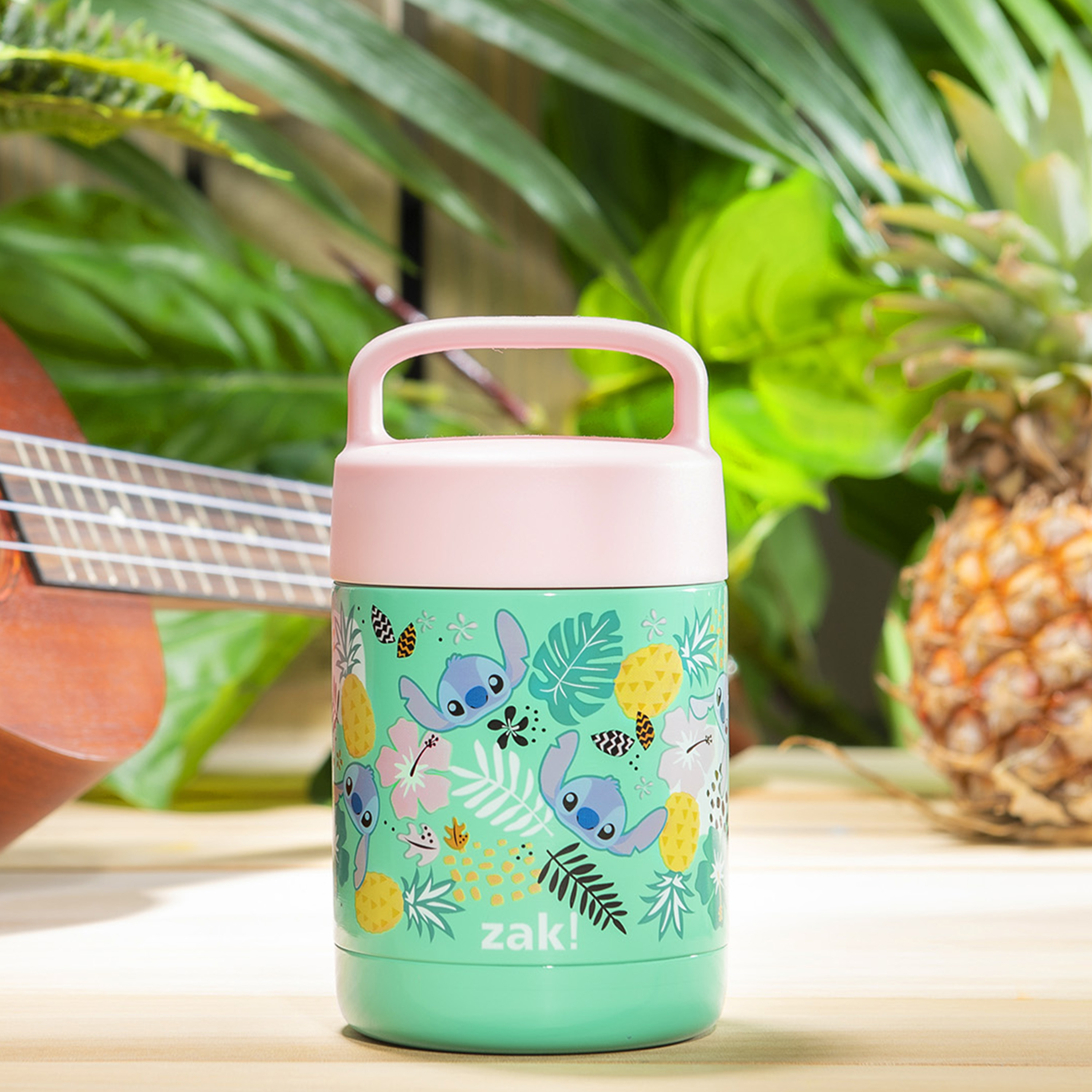 Disney Reusable Vacuum Insulated Stainless Steel Food Container, Lilo & Stitch slideshow image 2