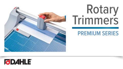 Dahle Premium Rotary Trimmer Series Video