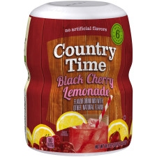 Country Time Black Cherry Lemonade Drink Mix 18.3 oz Jar