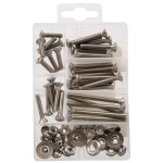Oval Head Phillips Stainless Steel Machine Screws Kit