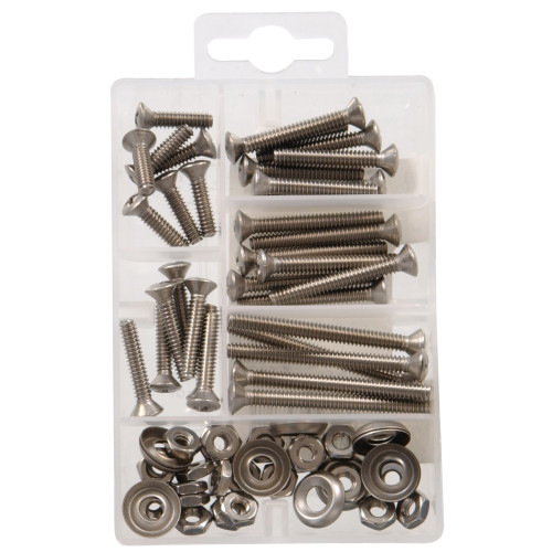 Oval Head Phillips Stainless Steel Machine Screws Kit Small