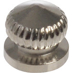 Nickel Turn Knob (#8-32 Thread)
