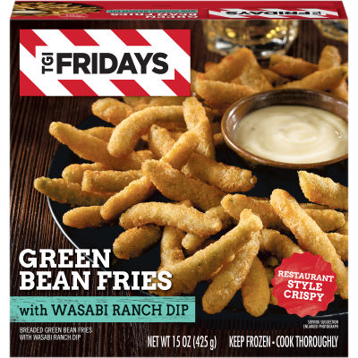 TGI Friday's Green Bean Fries With Wasabi Ranch Dip 15 oz Box