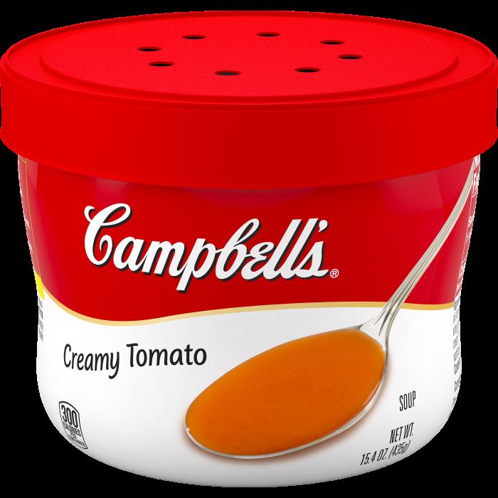 Creamy Tomato Soup Microwavable Bowl