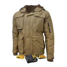 DEWALT® Men's Heavy Duty Ripstop Heated Jacket Kitted