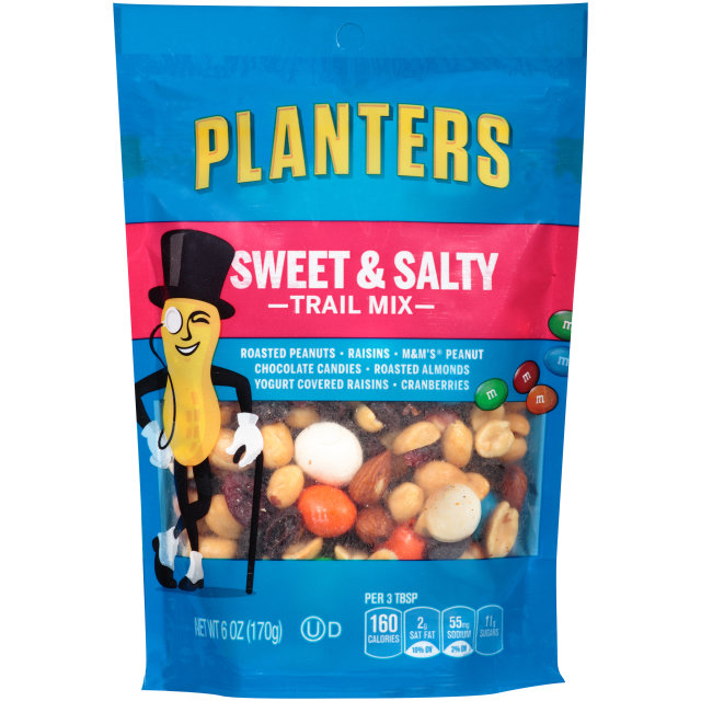 PLANTERS Trail Mix Sweet & Salty  6 oz Bag