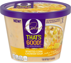 O That's Good! Roasted Corn Chowder Soup 16 oz Bowl