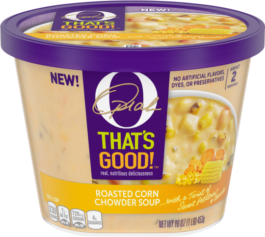 O That's Good! Roasted Corn Chowder Soup 16 oz Bowl