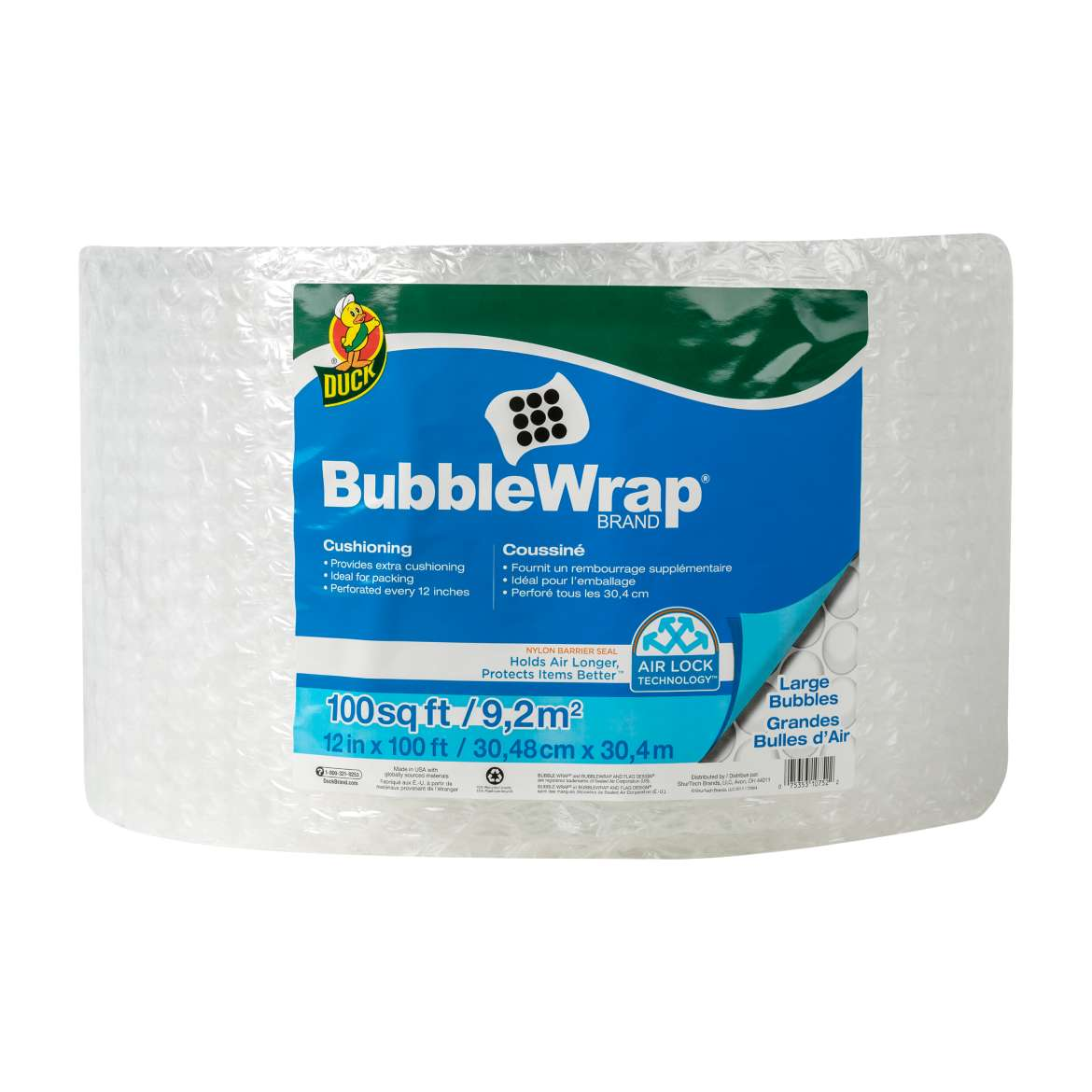 Large Bubble Wrap® Cushioning