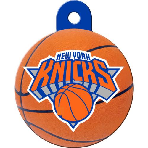 New York Knicks Large Circle Quick-Tag 5 Pack
