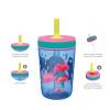 Trolls 2 Movie 15  ounce Plastic Tumbler, Poppy and Friends, 3-piece set slideshow image 11