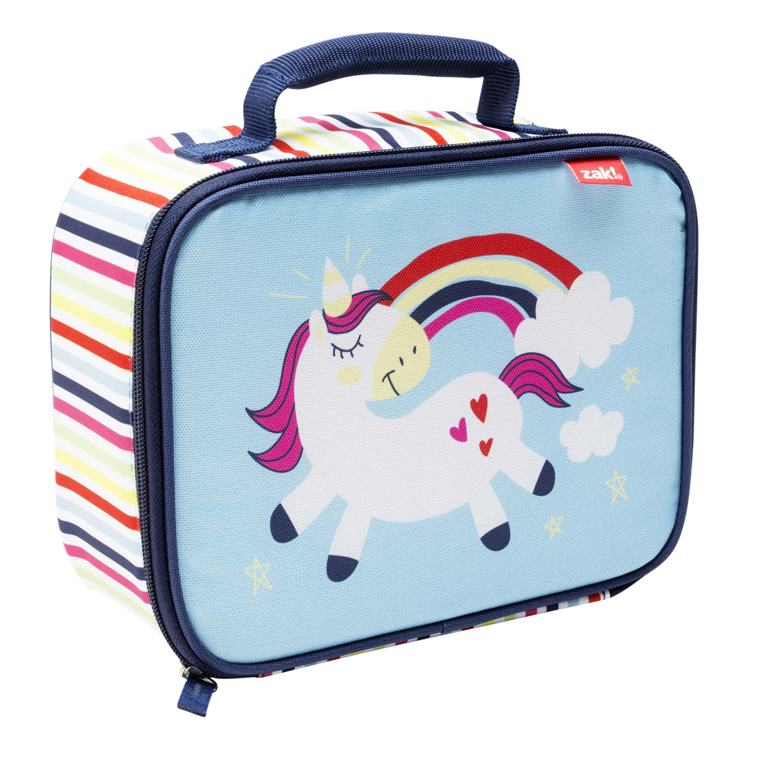 Happy Things Insulated Reusable Lunch Bag, Unicorns slideshow image 3