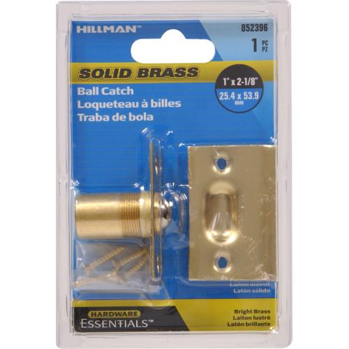 Hardware Essentials Ball Catch Solid Brass
