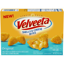 Velveeta Original Shells & Cheese Bites 7 oz Box