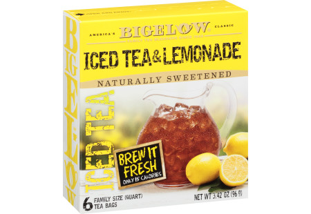 Iced Tea and Lemonade - Case of 6 boxes - total of 36 teabags