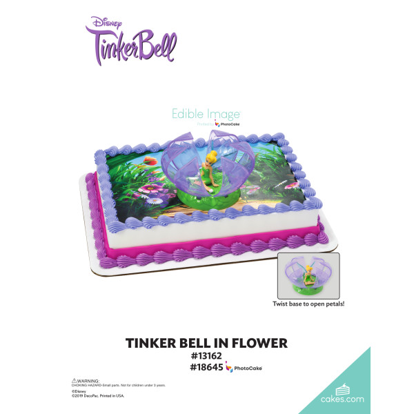 Tinker Bell in Flower DecoSet® The Magic of Cakes® Page