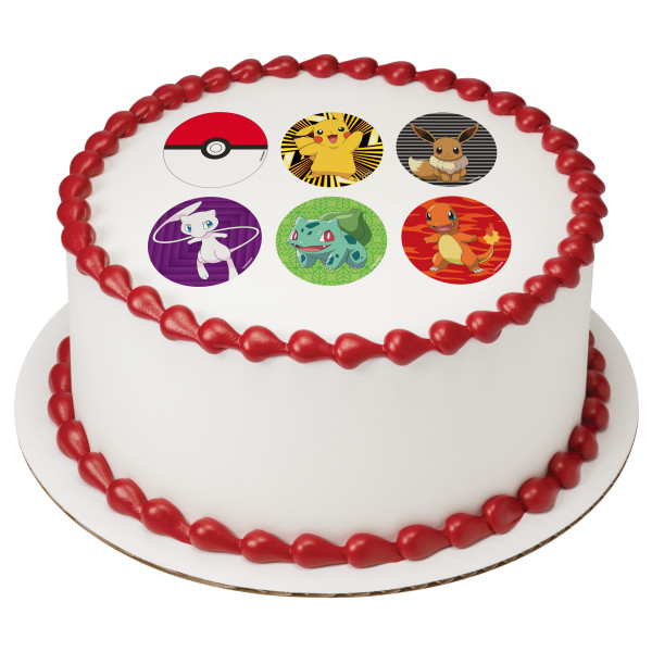 Pokémon™ Ready to Battle PhotoCake® Edible Image®