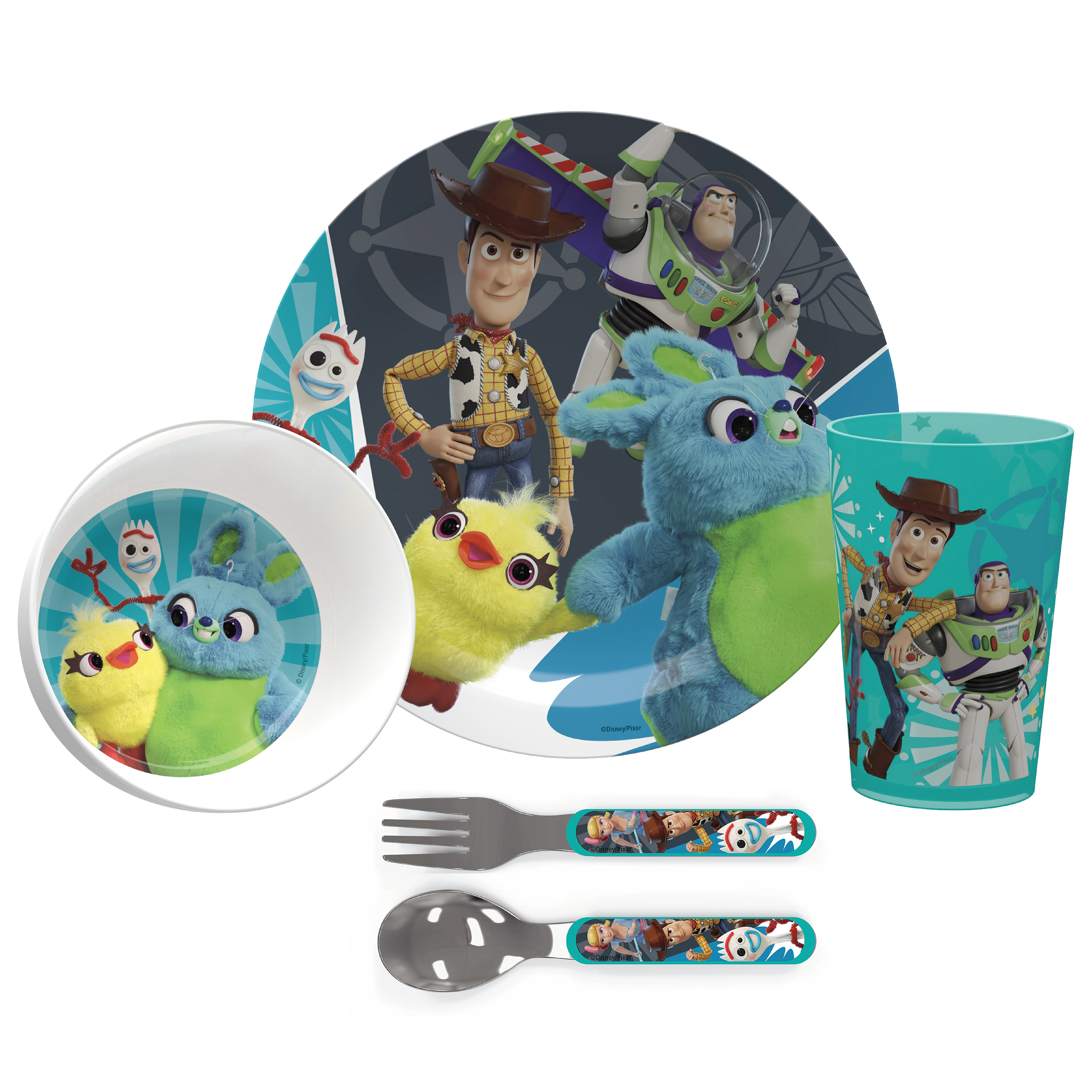 Disney Pixar Dinnerware Set, Woody, Buzz and Friends, 5-piece set slideshow image 2