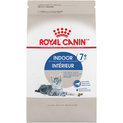 Royal Canin Feline Health Nutrition Indoor 7+ Dry Adult Cat Food