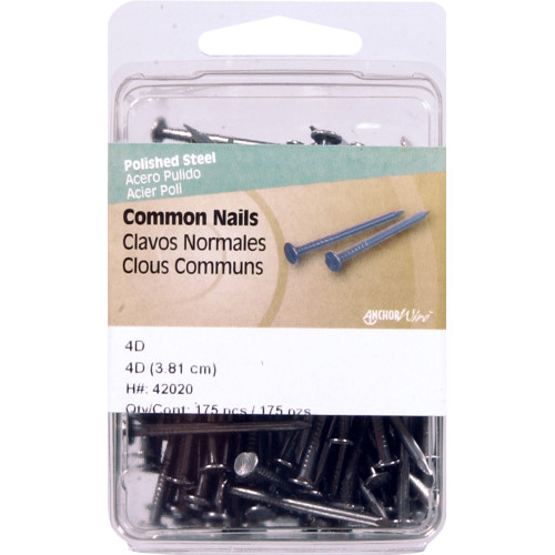 Polished Common Nails 4D