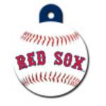 Boston Red Sox Large Circle ID Spot Tag
