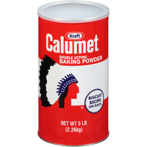 CALUMET Baking Powder, 5 lb. Canisters (Pack of 6) image