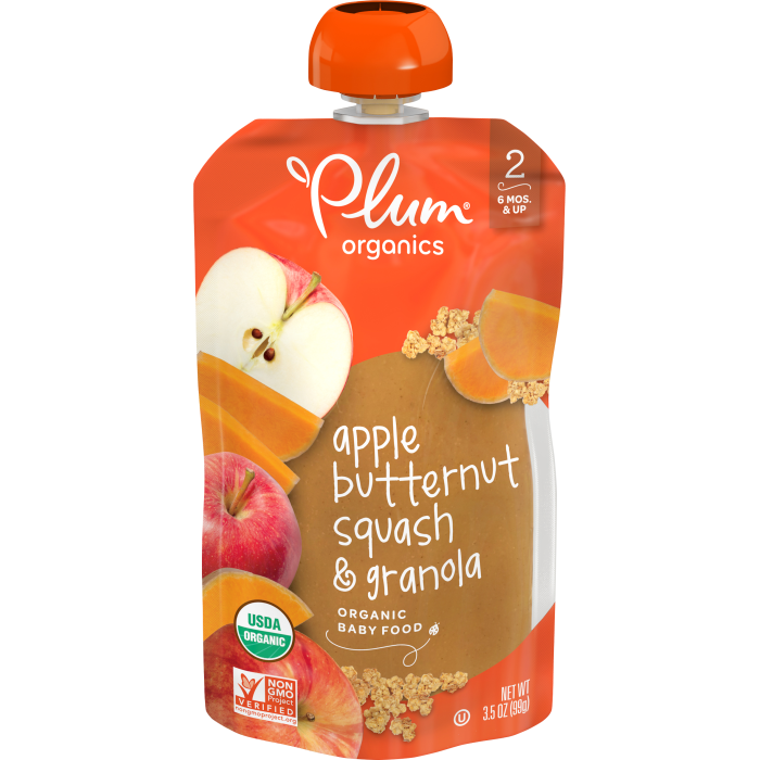 Apple, Butternut Squash & Granola, 3.5oz