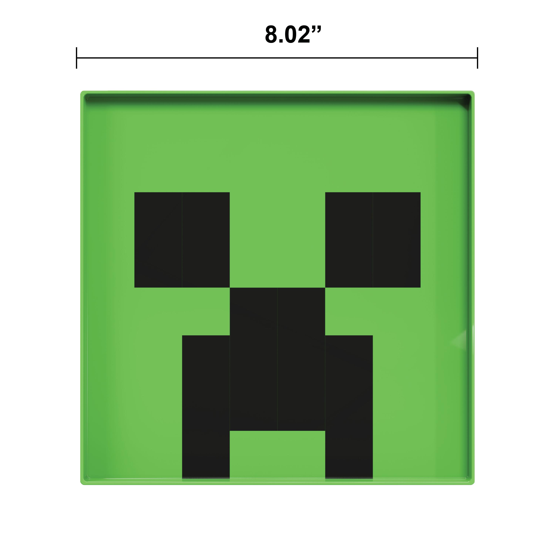 Minecraft Kids Dinnerware Set, Creeper and Ghost, 4-piece set slideshow image 4