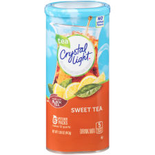 Crystal Light Sweet Tea Drink Mix 6 count Canister