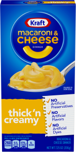 Kraft Thick & Creamy Macaroni & Cheese Dinner 7.25 oz Box image