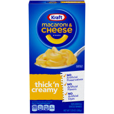 Kraft Premium Thick 'n Creamy Macaroni & Cheese Dinner 7.25 oz Box