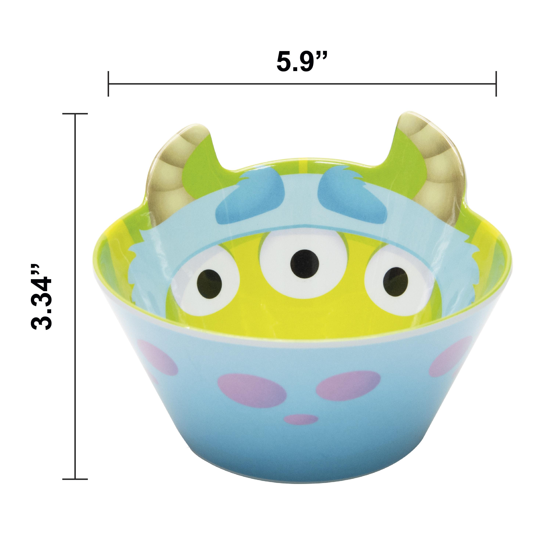 Disney and Pixar Plate and Bowl Set, Sully, 2-piece set slideshow image 6