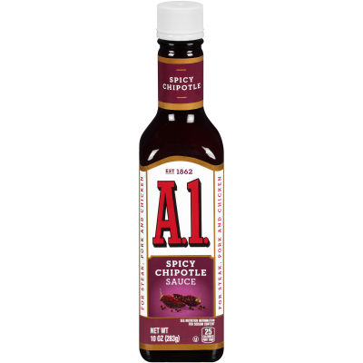 A.1. Spicy Chipotle Sauce 10 oz Bottle