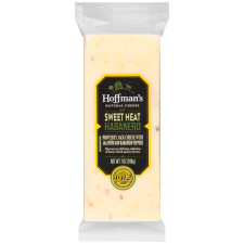 Hoffman's Natural Sweet Heat Habanero Cheese 7 oz Wrapper