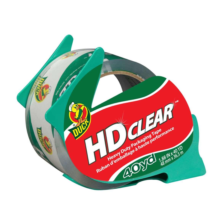 HD Clear™ Heavy Duty Packaging Tape - Clear, 1.88 in. x 40 yd. Image