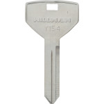 Chrysler Brass Auto Key Blank Y-154