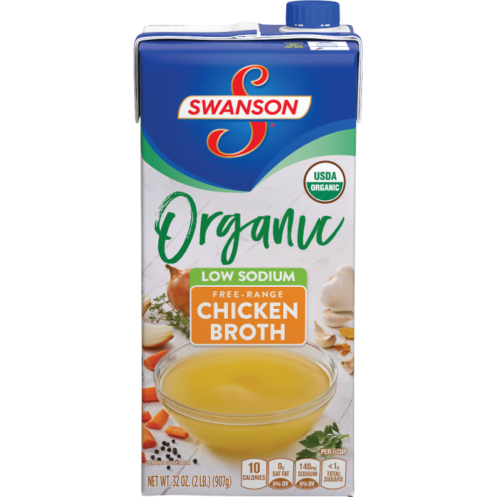Organic Low Sodium Chicken Broth