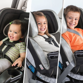Symphony All-In-One Convertible Car Seat  with FreeFlow