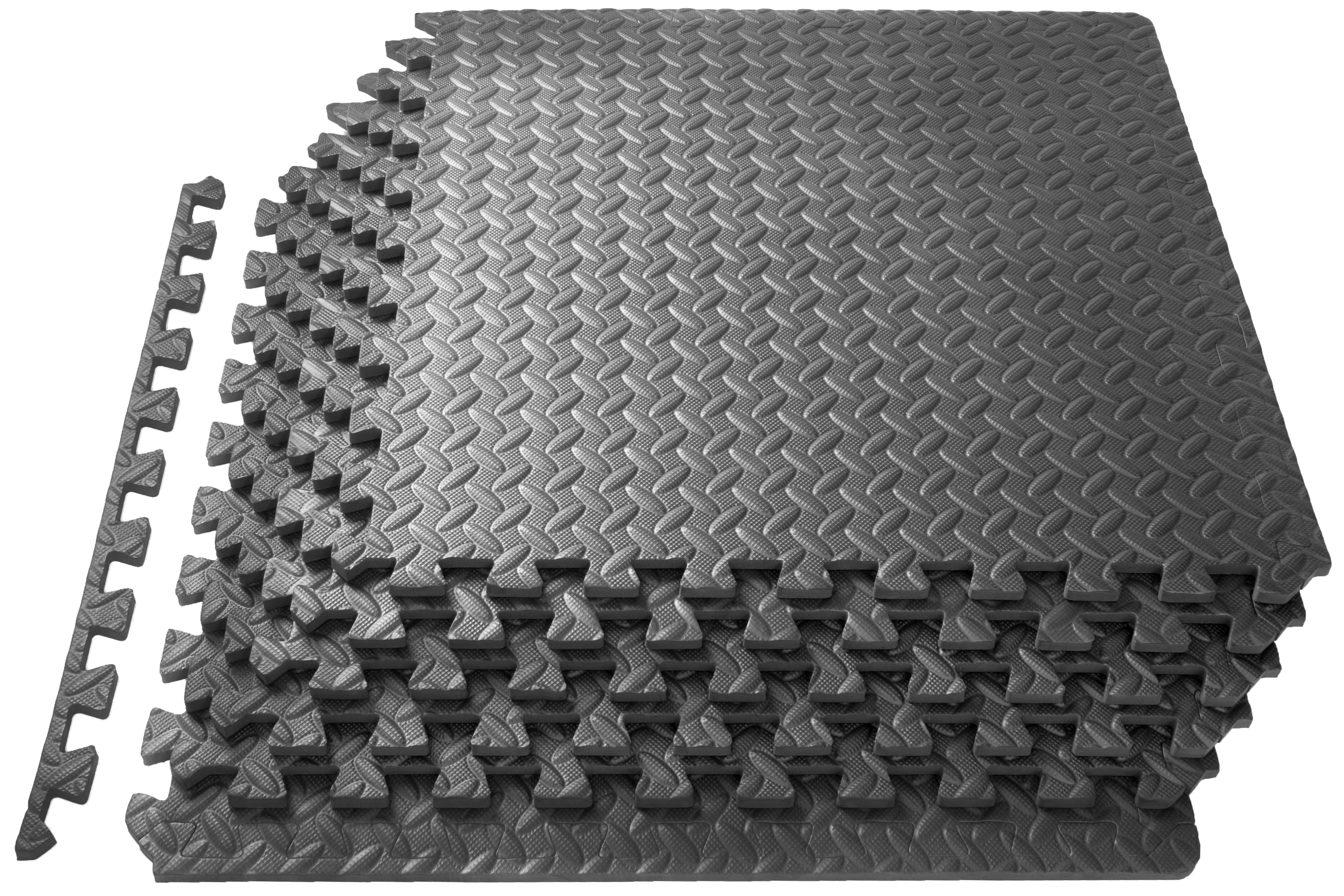 Prosource Puzzle Exercise Mat Eva Foam Interlocking Tiles
