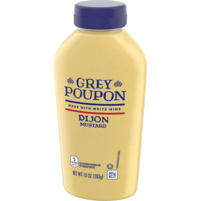 Grey Poupon Dijon Mustard, Squeeze Bottle, 10 oz