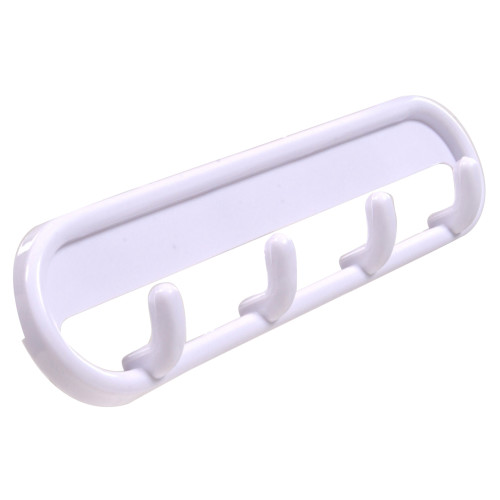 Hardware Essentials 4 Pronged Plastic Oval Key Hook