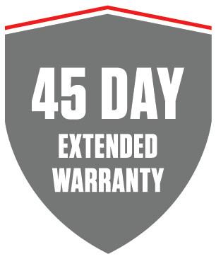 45 Day Warranty