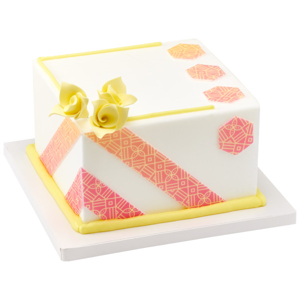 Pastel Origami Flowers Sweet Décor™ Edible Decorations