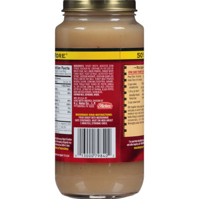 Heinz Home-Style Roasted Turkey Gravy 18 oz Jar
