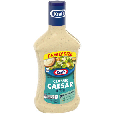 Kraft Classic Caesar Dressing, 24 fl oz Bottle