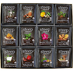 steep Organic Tea Assortment
