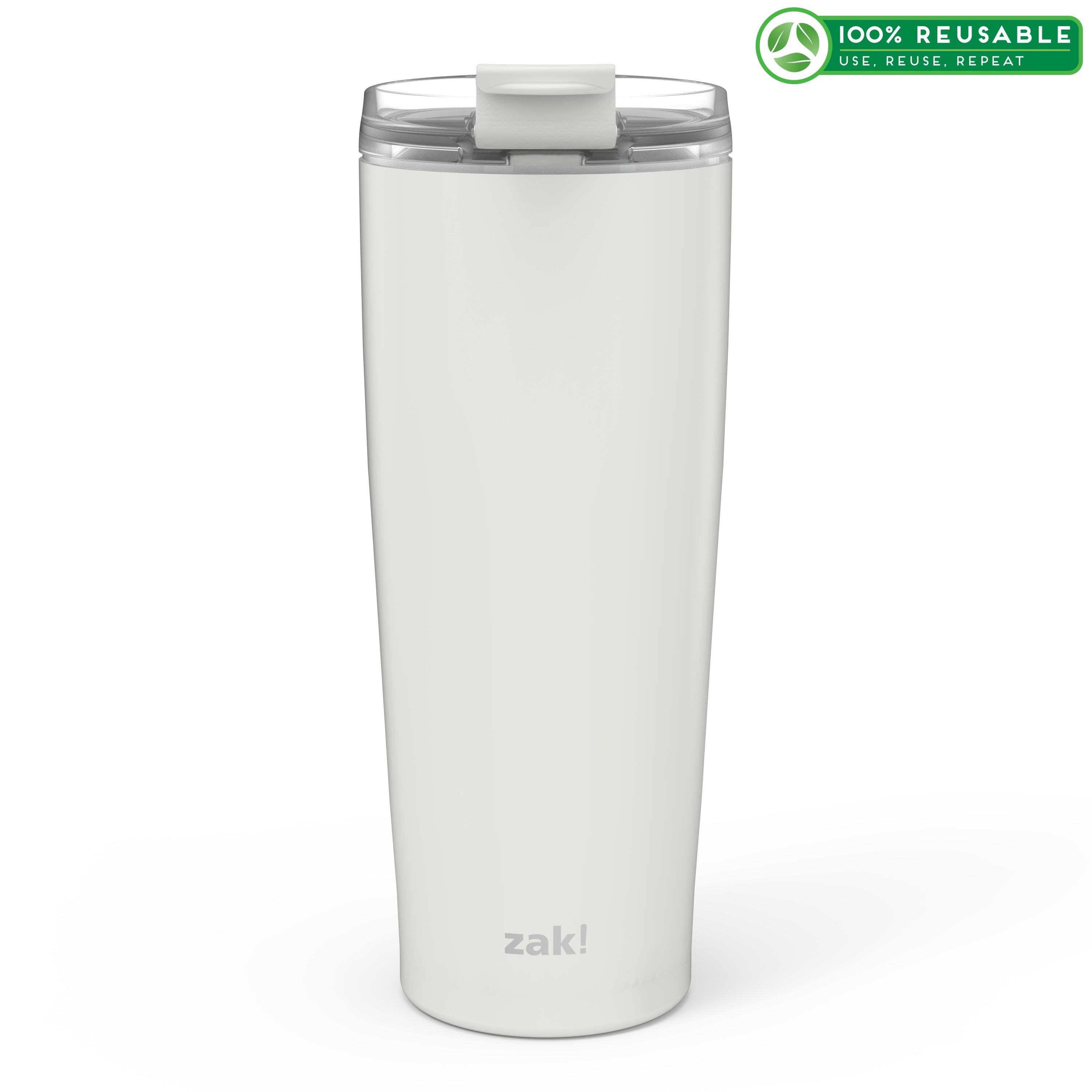 Aberdeen 30 ounce Vacuum Insulated Stainless Steel Tumbler, Gray slideshow image 1