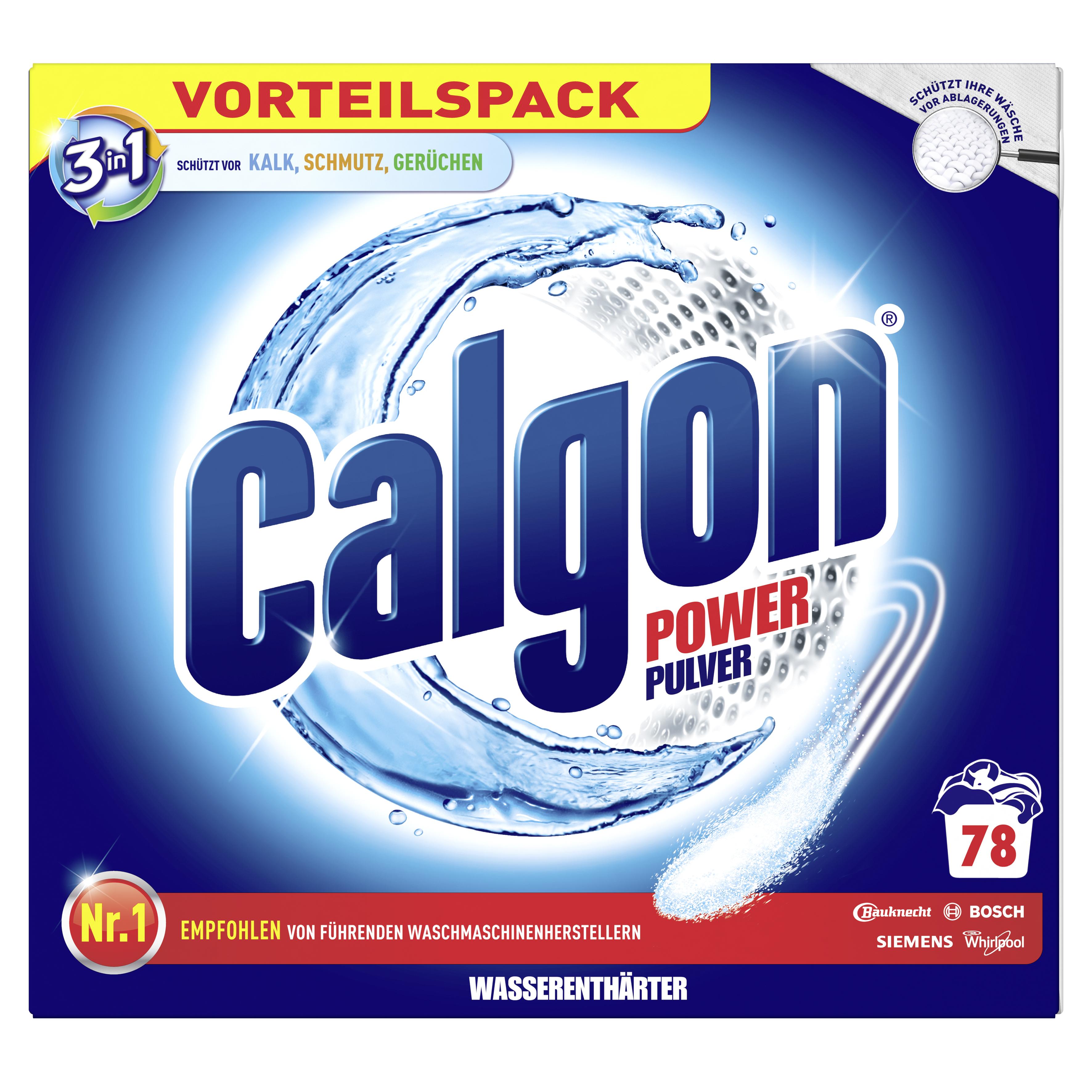Calgon 3in1 Power Pulver 2,5 kg